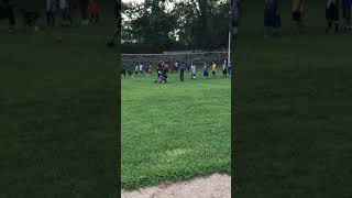 Sons football practice