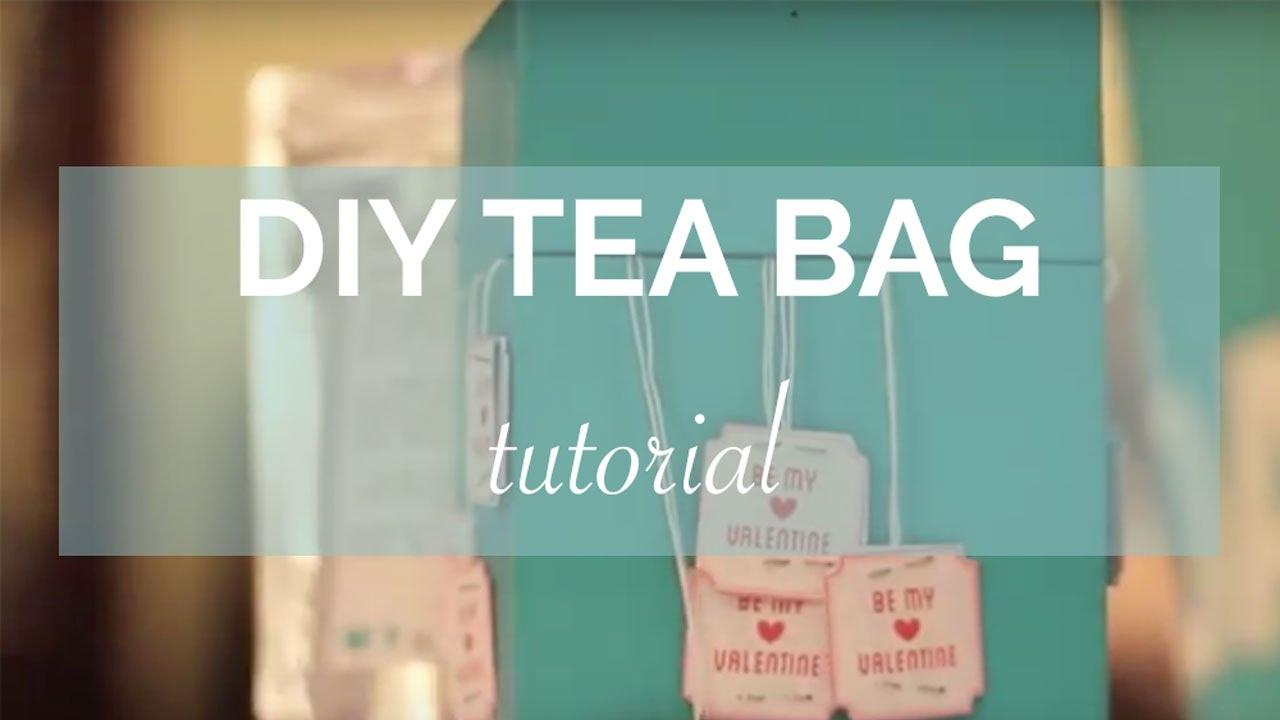 DIY Tea Bag Labels YouTube