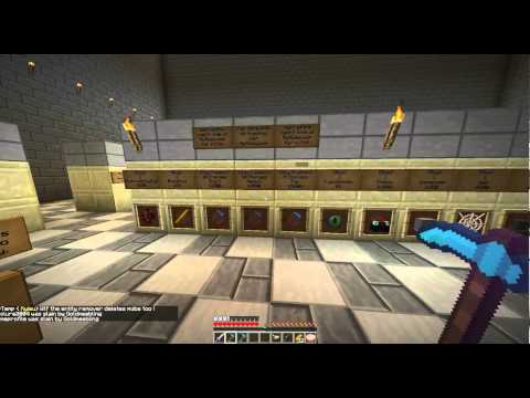Minecraft: PvP/Raid Server Review: Mcallies Episode 2