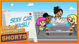 Download Sexy Car Wash - Cyanide & Happiness Shorts 3Gp Mp4