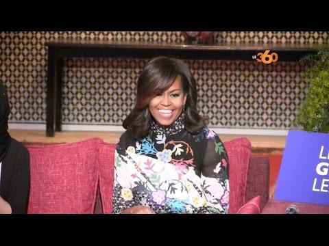 Le360.ma •Michelle Obama à marrakech