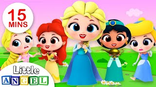 As Princesinhas, Os Sapatos da Cinderela e muito mais! | Música para Crianças | Little Angel
