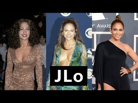 JLo's Beauty Transformation -Beauty Evolution - Allure