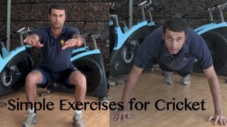 Cricket Fitness: Exercises for your Cricket Training