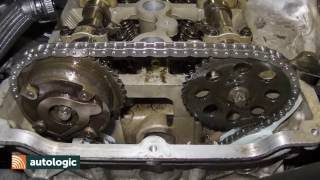 MINI N Engine timing chain Replacing