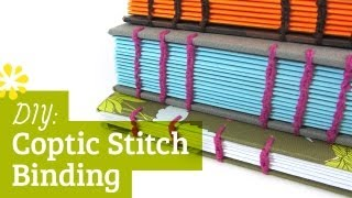 Coptic Stitch Binding Tutorial