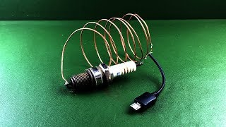 Free Internet 100% for Generator with Spark Plug Using Magnets