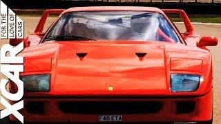 Ferrari F40: Analogue Animal - XCAR