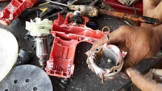 CÁCH ĐẢO CHIỀU , máy chạy chổi than, và cách thay bi bạc máy chà sơn tường.