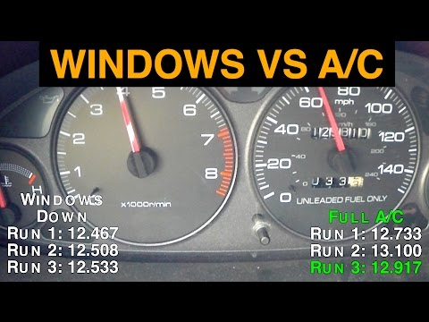 Air Conditioning Vs Windows Down Best Gas Mileage