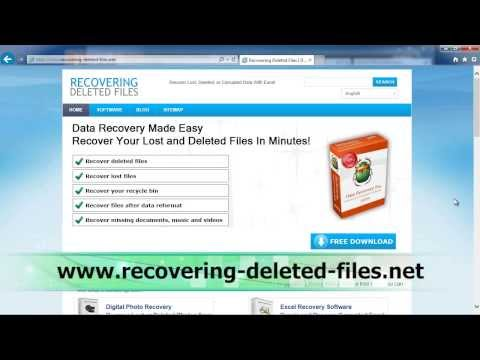 USB Data Recovery in MINUTES EASILY