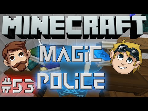 Minecraft Magic Police #53 - Hell Cow Basketball (yogscast Complete Mod Pack) video