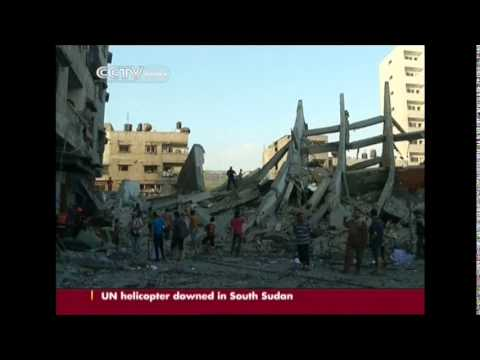 Open-ended truce begins in Gaza