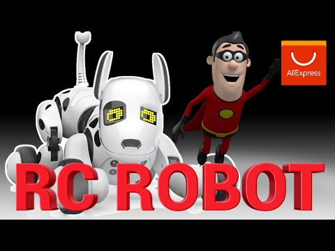 Inelligent RC Robot Dog Toy is a great gift for your children