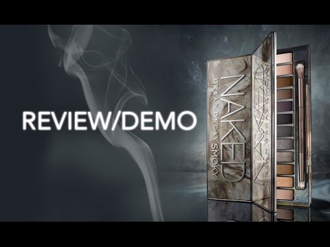 URBAN DECAY NAKED SMOKY PALETTE REVIEW / DEMO