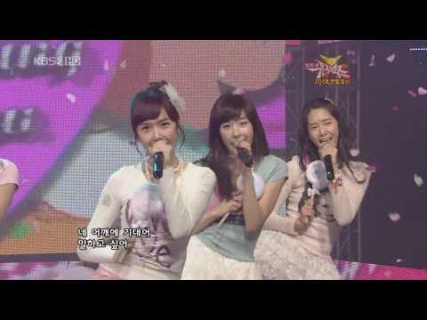 Snsd 少女時代 ♥ Kissing You Live Hd video
