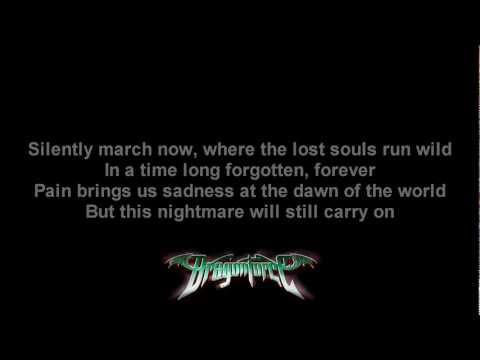 DragonForce- Inside The Winter Storm | Lyrics on screen | HD