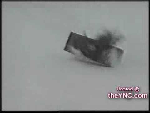 Nieve - Accidentes graciosos en la nieve