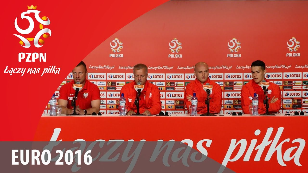 Konferencja reprezentacji Polski (La Baule, 13.06.2016)