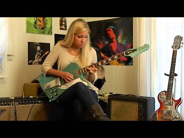 Green Firebird Guitar Firebird v Inverness Green
