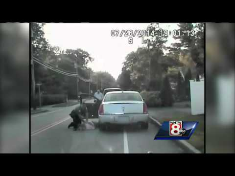 Maine cop stops driver for speeding, saves his life
