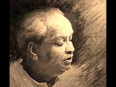 Kumar Gandharva. Raga Shree & Drut Tarana In Teental.
