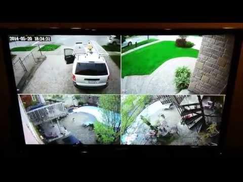 Home Security Cameras - 1080p HD-SDI system