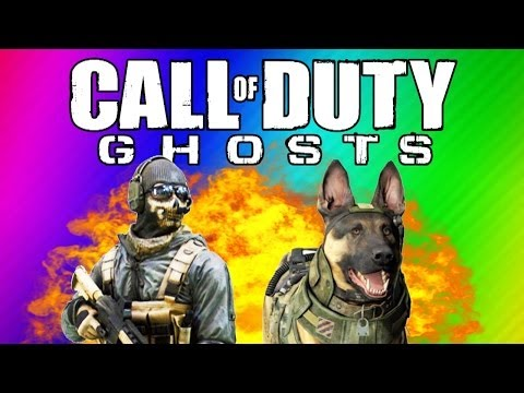 COD Ghosts Funny Moments - Ninja Defuse. Funny Killcams. Guard Dog. Chainsaw (Multiplayer Gameplay)