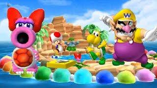 Mario Party 9 ☺ Step It Up #15 KOOPAD VS TOAD VS YOSHI VS WARIO 💓 Fun Games for kids 💓 Tuaone