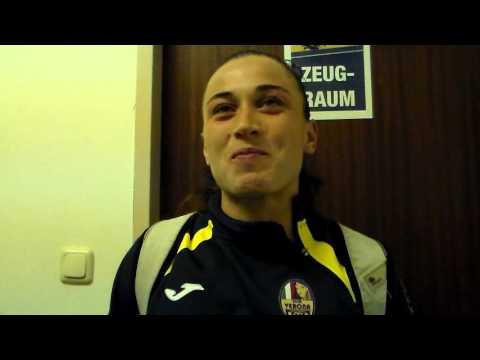 Champions post-match. intervista Pirone