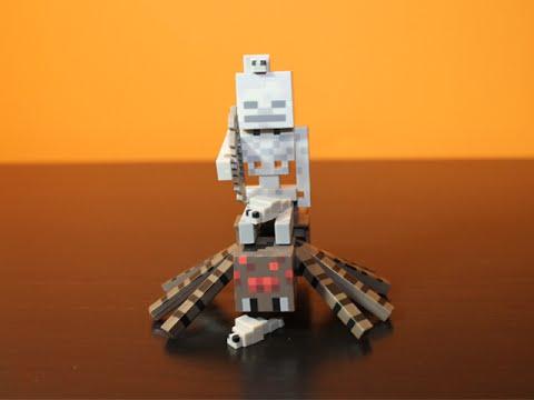 Minecraft Series 2 - Spider Jockey Pack Review video