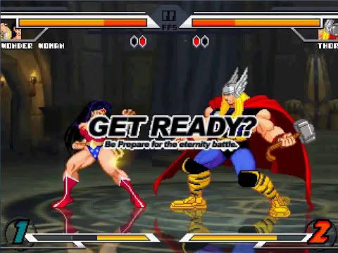 SW Mugen - Wonder Woman vs Thor