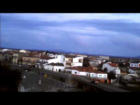 volando por sancti spiritus ((Salamanca) 1ª parte . DRONE SYMA X5C-1