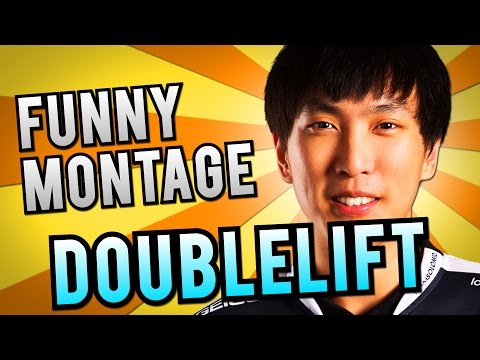 Best of Doublelift | Funny Montage