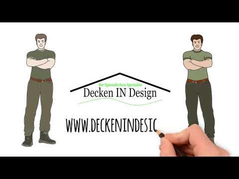 Spanndecken Montage Video, Decken IN Design