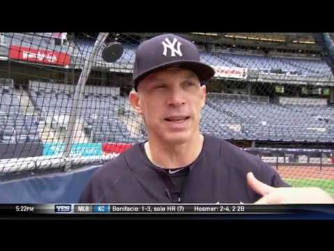 Catching tips with Joe Girardi