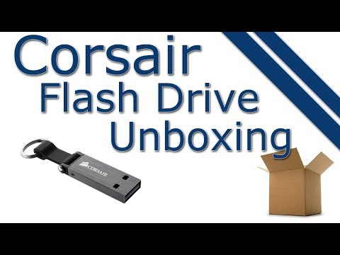 Corsair 64GB USB 3.0 Voyager Mini Flash Drive Unboxing