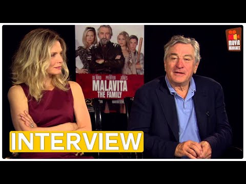 Malavita | Robert DeNiro & Michelle Pfeiffer EXCLUSIVE Interview (2013)