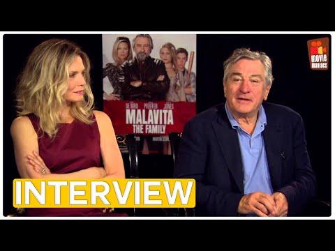 Malavita | Robert DeNiro & Michelle Pfeiffer EXCLUSIVE Interview (2013)