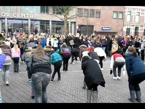 Flashmob Leiden - 2e Ronde video