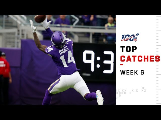 Top Catches from Week 6 | NFL 2019 Highlights thumbnail