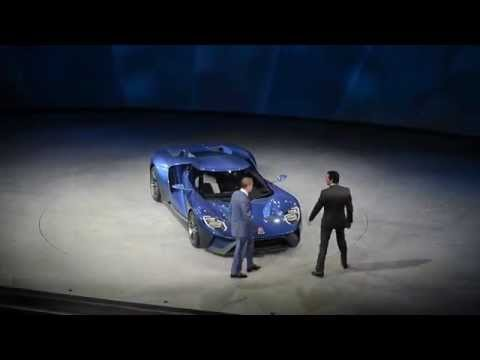 NAIAS 2015 - Ford GT, Shelby GT350R, F-150 Raptor