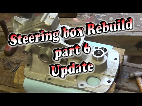 Massey Ferguson 35 Steering Box Rebuild Part 6