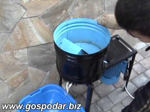 Как сделать корморезку