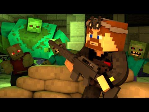 НАПАДЕНИЕ ОРДЫ ЗОМБИ - Minecraft DayZ