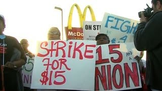 Low Wages at McDonald's, Burger King Cost Taxpayers Billions  10/25/13