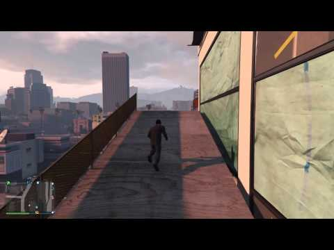 Grand Theft Auto V daily objective parachute dangerously