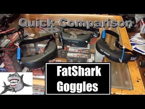 FatShark Goggle Comparison -- Teleporters. Predators. & Attitudes