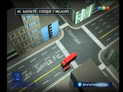 Detalles del accidente entre un autobomba y un taxi - Telefe Noticias