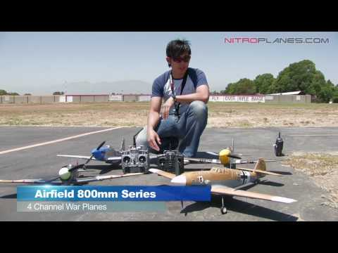 New Airfield 800MM Series Warbirds Flight Review
